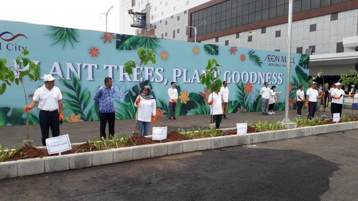 AEON Mall di Sentul Bogor Segera Hadir, Dikelilingi Pohon Tabebuya Jadi Serasa di Jepang