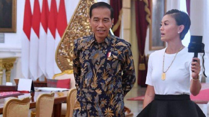 Ketemu Presiden Jokowi Pakai Kaus, Penampilan Agnez Mo Dikritik