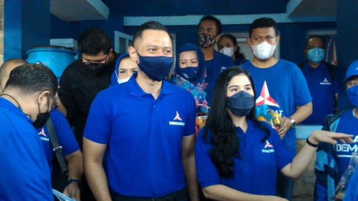 Kunjungi Kantor DPC Partai Demokrat Kota Bogor, AHY Bahas Sejumlah Tantangan