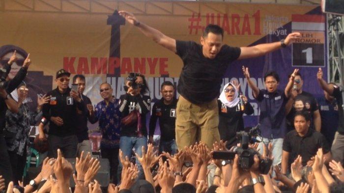 Tanggapan Warga Saat Dengar Pidato 3 Kalimat Agus Yudhoyono di Cipinang Muara