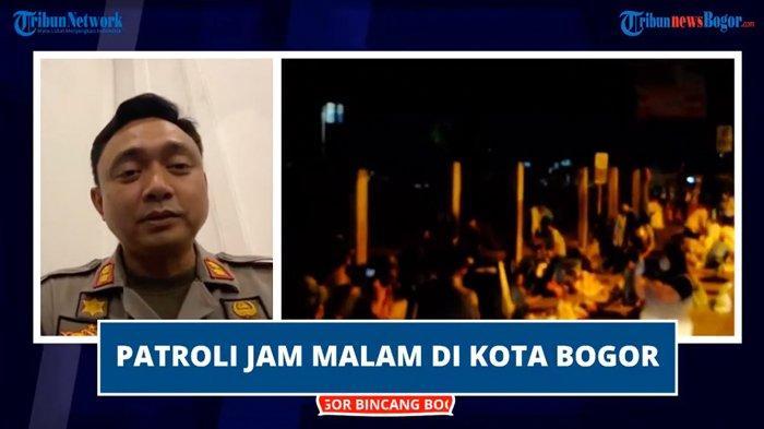 Kota Bogor Zona Merah, Petugas Gencar Patroli Malam : Keselamatan Harus Kita Pikirkan