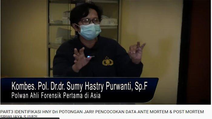 Ahli Forensik RS Polri Kramatjati, Kombes Pol. Dr.dr. Sumy Hastry Purwanti, Sp.F