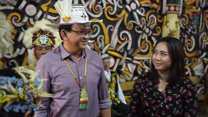 Dapat Gelar Kehormatan Dayak BTP Diteriaki 'Ahok Presiden', Bahas Rencana Jokowi Pindahkan Ibu Kota