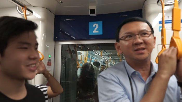 Ahok Diteriaki Warga dan Berebut Foto Saat Pertama Kali Naik MRT, BTP: Lebih Bagus dari Luar Negeri