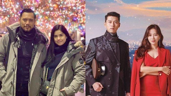 Adu Mesra Bareng AHY dengan Hyun Bin & Son Ye Jin 'Crash Landing On You',Annisa Pohan: Nyata vs Halu