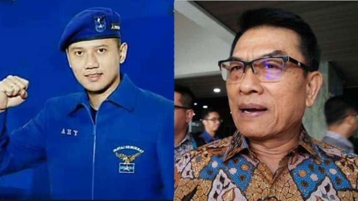 AHY Disindir Baperan, Moeldoko Tanggapi Isu Kudeta Partai Demokrat : Jangan Ganggu Istana dan Jokowi