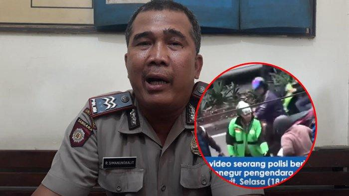 VIDEO Pria Berjaket Ojol Hadang Pengendara Motor, Identitasnya Terungkap saat Jaket Dibuka, Ternyata