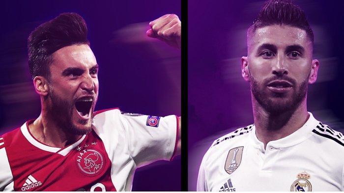 Hasil Drawing 16 Besar Liga Champions - Ajax Menangis Gembira Bertemu Real Madrid