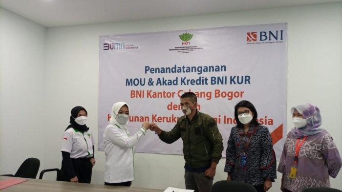 Bantu Dorong Kebutuhan Modal Petani, HKTI Kota Bogor Jalin MoU dengan BNI