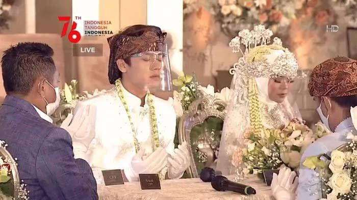 Foto-foto pernikahan Lesty dan Rizky Billar