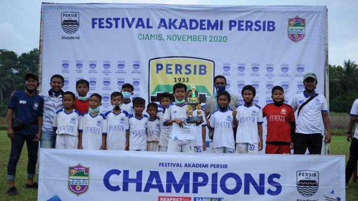 Gagal Menjadi Juara Umum, Akademi Persib Bandung Kota Bogor Sumbang Pemain Terbaik