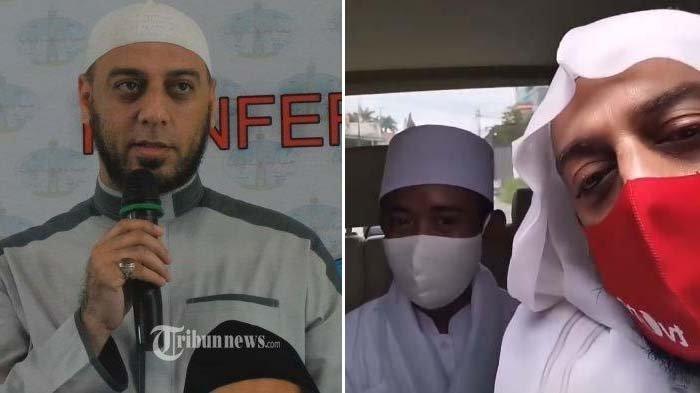 Isak Tangis Putra Angkat Dengar Syekh Ali Jaber Wafat : Maaf Baba, Akbar Belum Bisa Bahagiain Baba