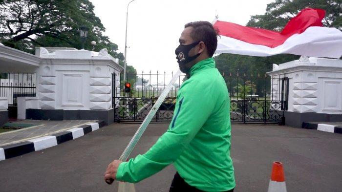 Semangat HUT Ke-75 RI, Video Anggota DPRD Kota Bogor Lari Bawa Bendera Merah Putih Viral