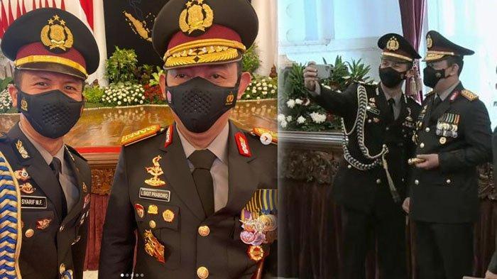 Sosok Polisi yang Berani Ajak Selfie Kapolri Jenderal Listyo Sigit, Raffi Ahmad Sampai Komentar Ini