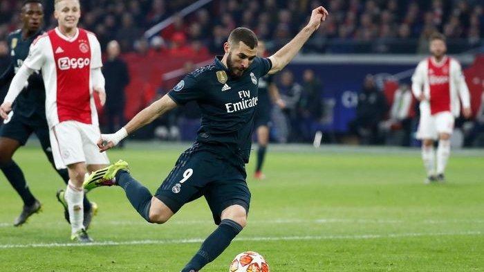 Hasil Ajax Amsterdam Vs Real Madrid Liga Champions - Modric Dkk Menangi Duel Sengit
