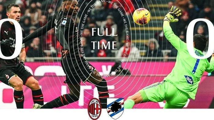 Hasil Liga Italia - Debut Zlatan Ibrahimovic Bersama AC Milan Tak Berbuah Manis