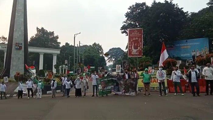 DPC PKB Kota Bogor Gelar Aksi Solidaritas Dukung Palestina
