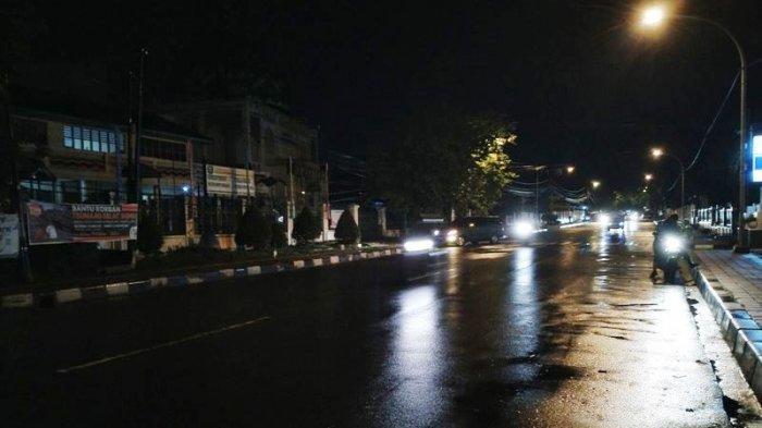Traffic Update Jalan Pemuda Kota Bogor Malam Ini, Lalu Lintas Ramai Lancar