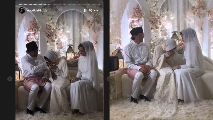 Menikah dengan Engku Emran, Noor Nabila: Semoga Cinta Kami hingga ke Jannah