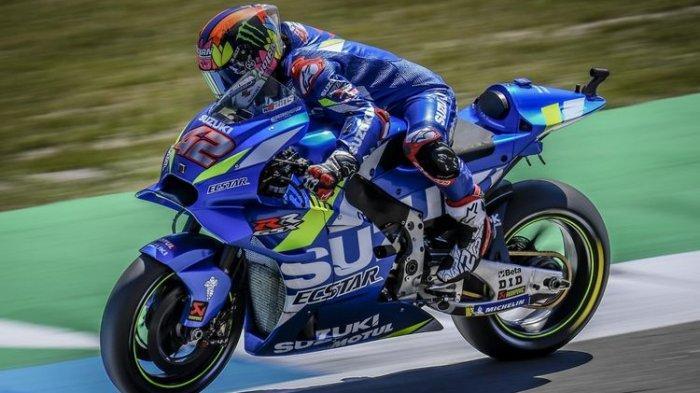 Hasil MotoGP Inggris 2019 - Marc Marquez Dipencundangi Alex Rins di Garis Finis