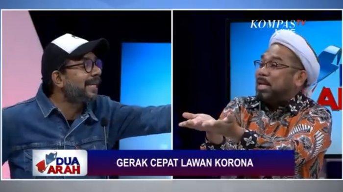 Debat Panas Haris Azhar dan Ali Ngabalin, Fadli Zon: Mungkin Gak Tahu Kalau Persahabatan Itu Nama RS