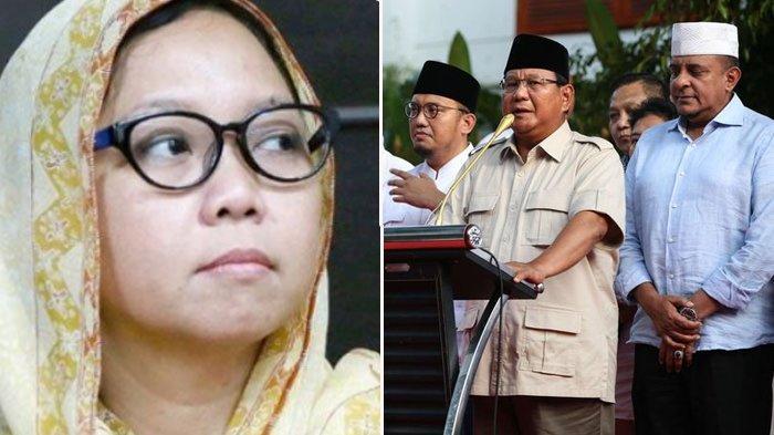 Prabowo Klaim Menang di Exit Poll dan Quick Count, Alissa Wahid : Kasihan Tak Diberi Informasi Tepat