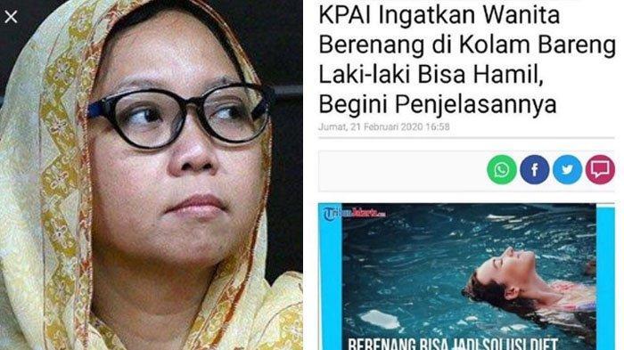 Soroti Ucapan Komisioner KPAI soal Wanita Bisa Hamil Bila Berenang Bareng Pria, Alissa Wahid Heran