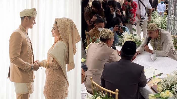 Ali Syakieb dan Margin resmi menikah, Sabtu (6/2/2021)
