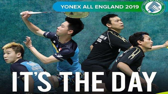 Link Live Streaming All England 2019 di TVRI dan Channel YouTube Yonex All England Malam Ini