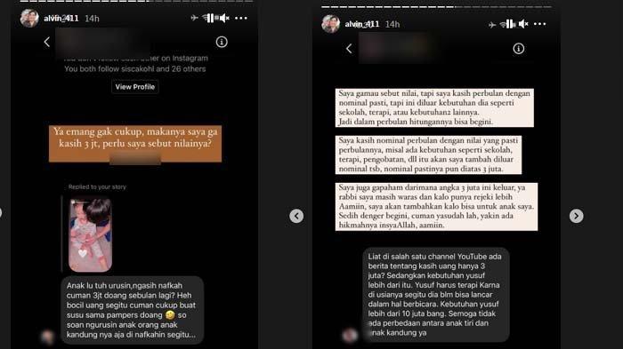 Unggahan Alvin Faiz Bantah Kabar Cuma Kasih Nafkah Rp 3 Juta ke Anak Larissa Chou