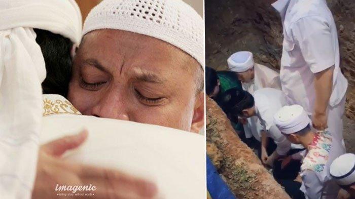 Azani Ustaz Arifin Ilham di Liang Lahat, Anak Sulung: Dulu Abi yang Mengazankan Alvin, Kini Gantian