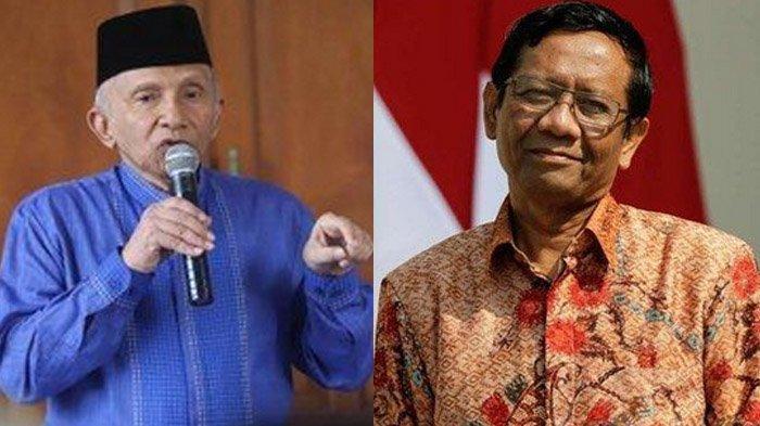 Amien Rais Curiga Presiden 3 Periode, Mahfud MD Kutip Ucapan Jokowi : Ingin Mencari Muka