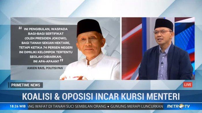 Amien Rais Minta 45 Persen Kekuasaan Jokowi, PKB : Sangat Tidak Mendidik !