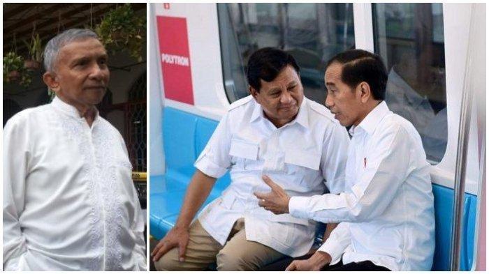Rencana Pertemuan ke-2 Jokowi & Prabowo, Amien Rais Soroti Tingkah Politikus Pendukung Prabowo-Sandi