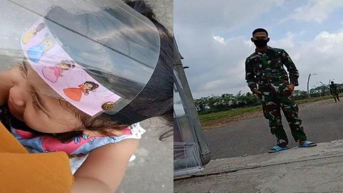 Kisah Pilu Anggota TNI, Sedih Tak Dikenali Putrinya Seusai Pulang Bertugas: Itu Ayah Nak