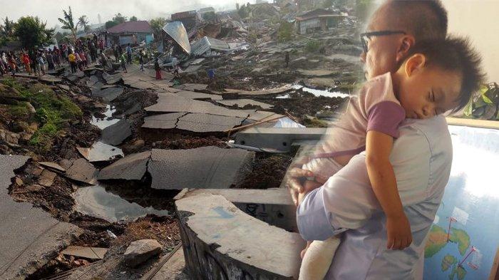 Sempat Digendong Mensos Usai Ditemukan di Saluran Air Pasca Gempa, Anak Ini Dapat Kabar Gembira