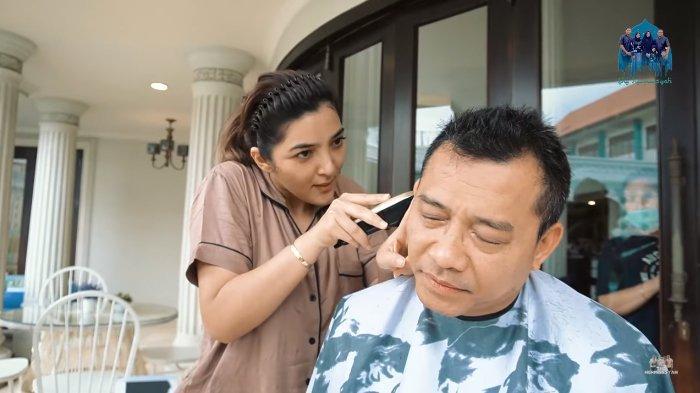 Anang Teriak Lihat Rambut Barunya Usai Dipangkas Ashanty, Pasrah Kena Omel Istri : Oke Iya Bagus !
