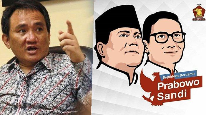 Sebut Kemenangan Prabowo-Sandiaga Berat, Andi Arief: Kardus Cuma Alat yang Tidak Mengubah Keadaan