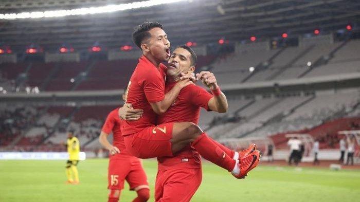 Hebat ! Timnas Indonesia Unggul 2-1 atas Malaysia Babak Pertama, Beto Tampil Gemilang