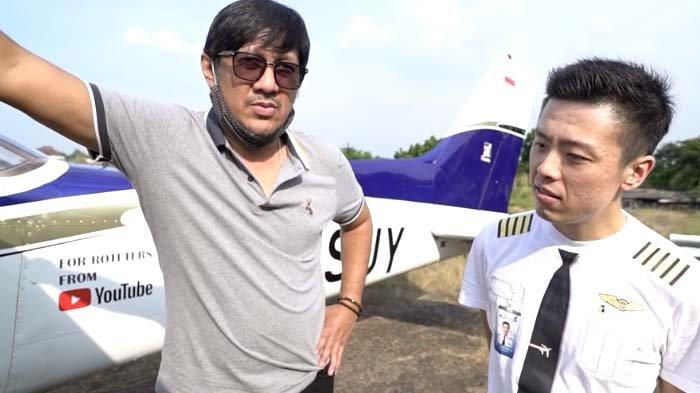 Andre Taulany Beli Pesawat dari Kapten Vincent, tapi Belum Dibayar, Feni Rose Sindir Gelar 'Sultan'
