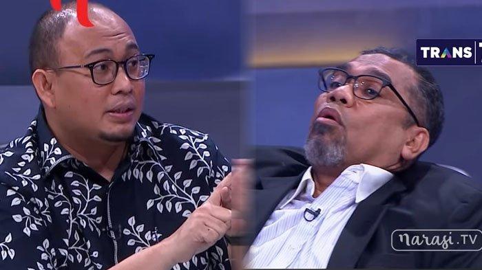Ali Ngabalin Lepas Tutup Kepalanya Saat Dituding Jadi Dalang Penolakan Neno Warisman di Riau