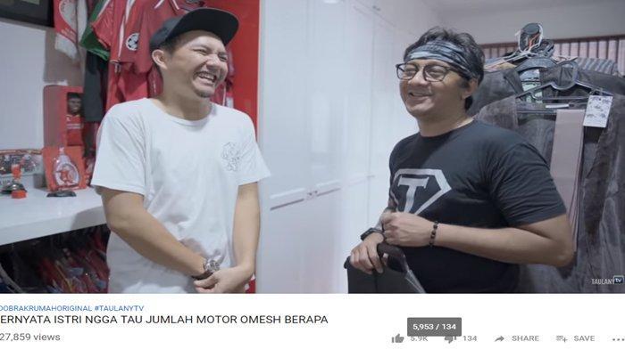 Andre Taulany Singgung Gading Marten Saat Bahas Izin Istri, Omesh Tertawa : Udah Gak Yah ?