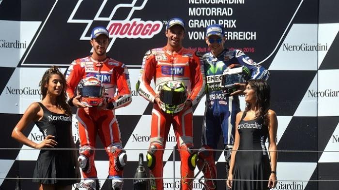 Ini Klasemen Sementara MotoGP 2016 Pasca GP Austria