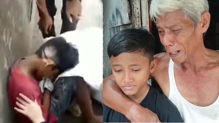 Bocah Pemulung Ini Dikira Wafat Ternyata Masih Hidup, Tangis Ayah: Maafin Bapak Gak Bisa Jaga Angga