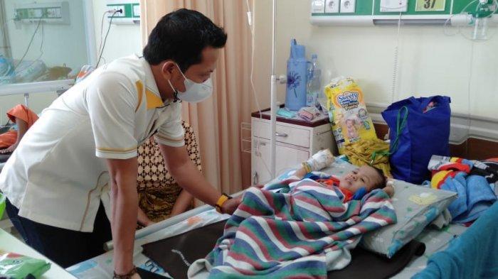 Anggota DPRD Kabupaten Bogor Pastikan Bocah Penderita Gizi Buruk di Sukajaya Dirawat Sampai Sembuh