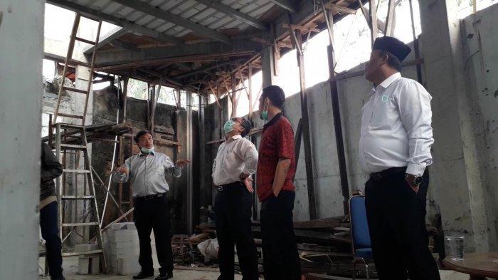Kantor PAC PDIP Cileungs Dilempar Bom Molotov, Anggota Dewan di Bogor Datangi TKP