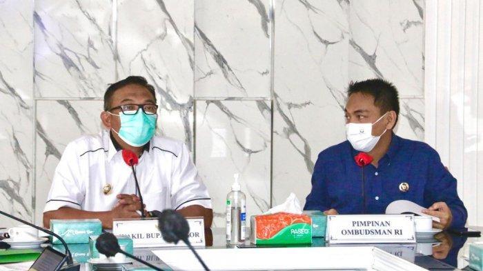 Cegah Maladministrasi, Ombudsman RI Lakukan Kunjungan ke Pemkab Bogor