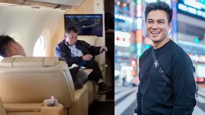 Angkat Kaki Depan Majikan saat Naik Jet Pribadi, Sopir Baim Wong Bereaksi Ditegur Kru : Bebas Dong