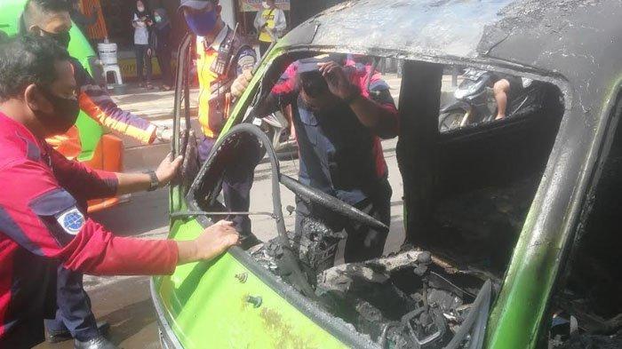 Kesaksian Pengemudi Angkot Terbakar di Bogor: Mobil Masih Jalan, Saya Minta Semua Penumpang Turun