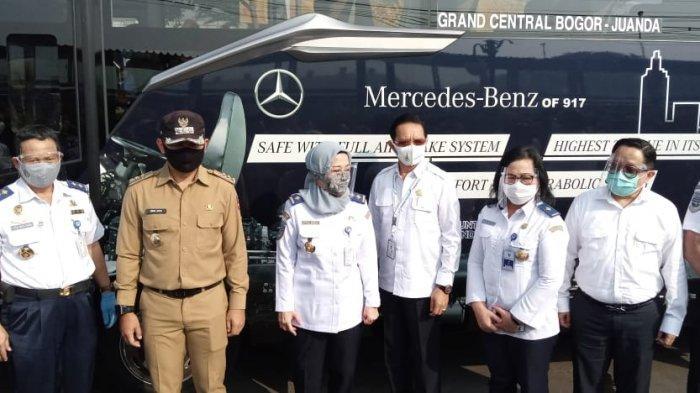 Angkutan JRC Bogor - Jakarta Mulai Diujicoba, Bima Arya Sebut Untuk Kurangi Kepadatan Stasiun Bogor